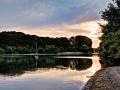 Abend am Altrhein
